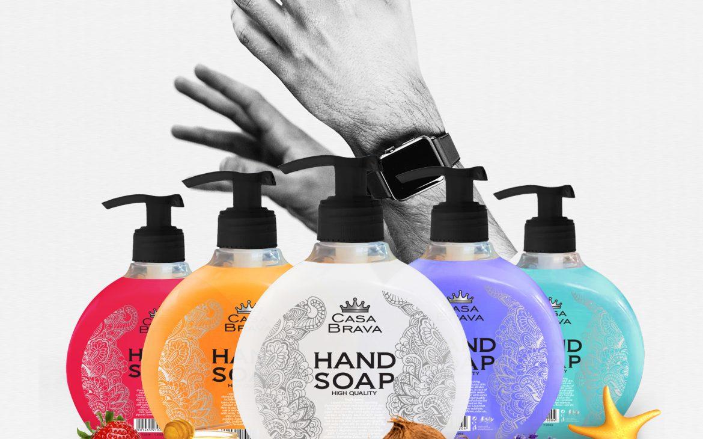 Casa Brava Hand Shampoo 500ml in 5 different Fruits