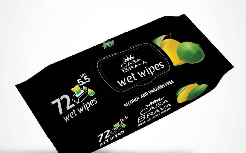Wet wipes Lemon & LIme